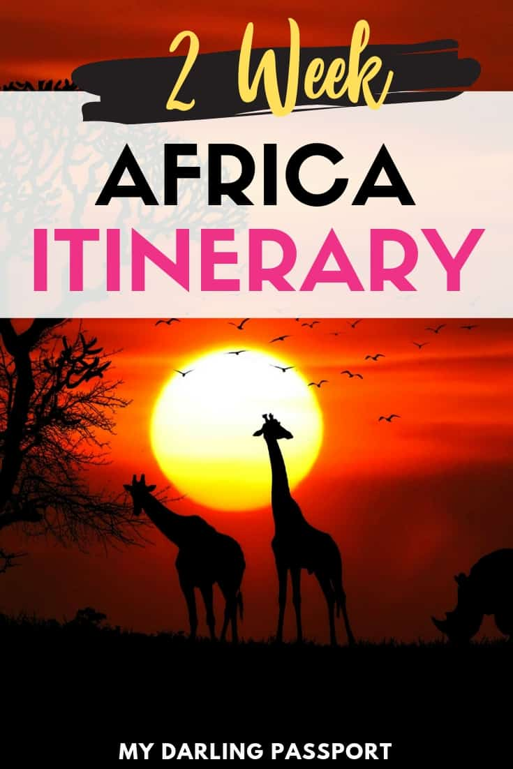 Travel // A Two Week Southern Africa Itinerary - My Darling
